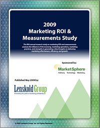 2009_MarketingROI_Research_Study